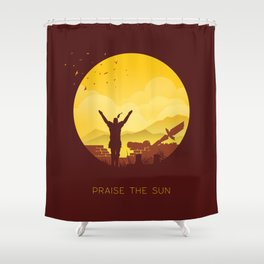 Solaire (Dark Souls) Shower Curtain