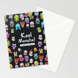 Kool Monsta Stationery Cards
