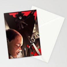 V (For Vendetta) Stationery Cards