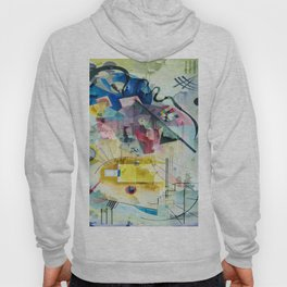 Displacement Glitch-Colorful Abstract Art Hoody