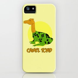 The Camel Toad iPhone Case