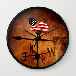 POTUS Trump and the Wind Of Times. Wall Clock
