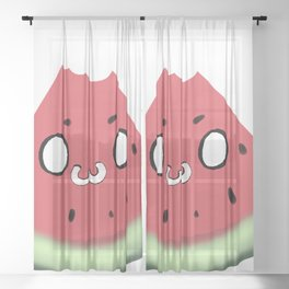 Watermelon Sheer Curtain