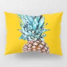Pineapple Ananas On A Yellow Mellow Background #decor #society6 #buyart Pillow Sham