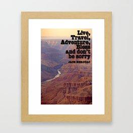 Kerouac Framed Art Print