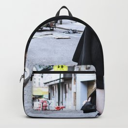 Vintage Grunge in Chinatown Backpack