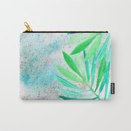 green teal sparkle glittter Carry-All Pouch