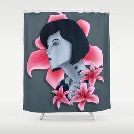The Beauty of Cortana Shower Curtain