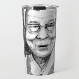 Belief & Knowledge (Dalai Lama) by carographic Travel Mug