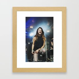 We Are The In Crowd Framed Art Print