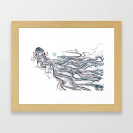 Self Control Framed Art Print