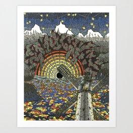 CHINACAT GENERATOR Art Print