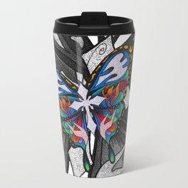 Christianity Themed Butterfly Art Travel Mug