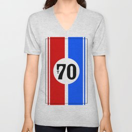 Lola T70 Racing Design Unisex V-Neck