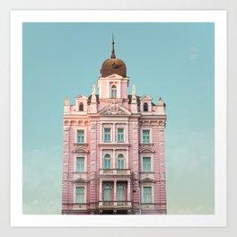 Hotel Opera Art Print
