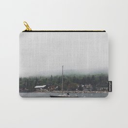 Sailboat and the Fog Carry-All Pouch