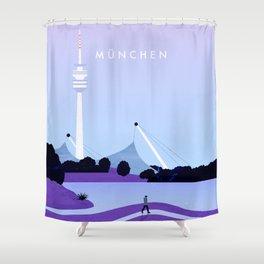 München Shower Curtain