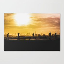 London Sunrise on Pimrose Hill Canvas Print