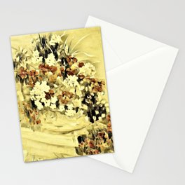 Geraniums on the Porch Stationery Cards