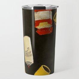 The Essentials: coffee, cigs, & spray Travel Mug