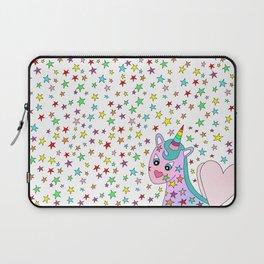 Rainbow the Unicorn Starstruck Laptop Sleeve