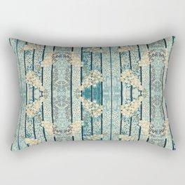 Lilacs & Phylox in Stripe By Danae Anastasiou Rectangular Pillow
