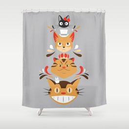 Studio Kitty Shower Curtain