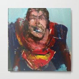 Superman diddy Metal Print