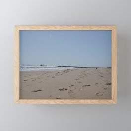 Steps in the Sand Framed Mini Art Print