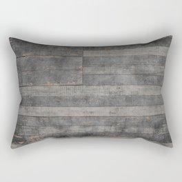 Black Flag USA Rectangular Pillow