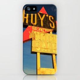 Roy's Vacancy iPhone Case