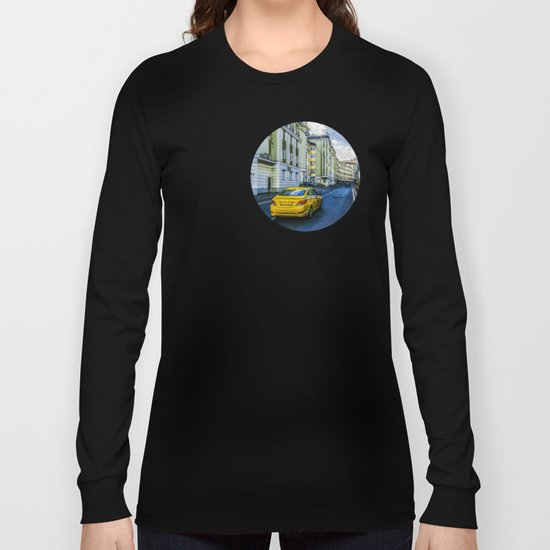 Yellow Taxi Long Sleeve T-shirt