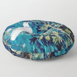 Pompeya in my heart Floor Pillow