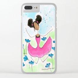 Tia Jump Clear iPhone Case