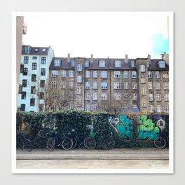 Homes, Vesterbro, Copenhagen Canvas Print