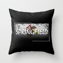 Springfield Throw Pillow