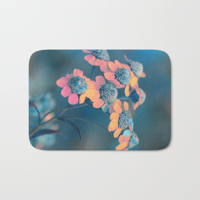 Softly flowers(2) Bath Mat