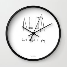 don't forget to play Wall Clock