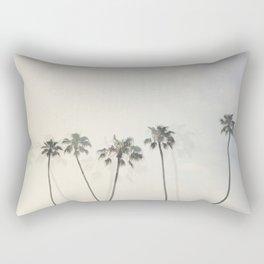 Double Exposure Palms 1 Rectangular Pillow