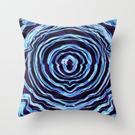 Tree Rings; Better with Age Throw Pillow