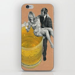 Any refreshment, dear? iPhone Skin