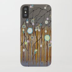 :: Willow Sunset ::  by Gale Storm iPhone X Slim Case