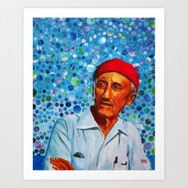 Jacques Cousteau Art Print
