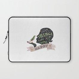 Simple Things Laptop Sleeve