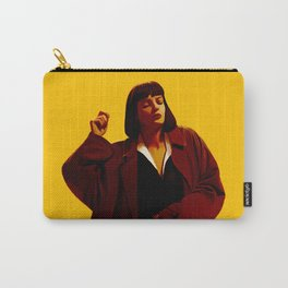 Mia Wallace - Yellow Carry-All Pouch
