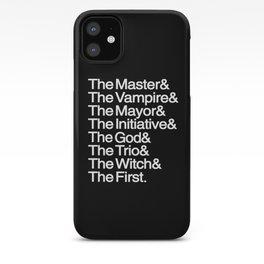 The Big Bads iPhone Case