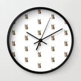 Polka Cat Original Wall Clock