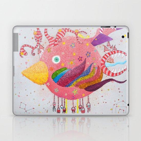 the bird-world Laptop & iPad Skin
