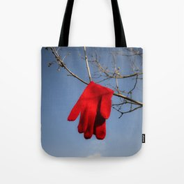 Lost Glove Tote Bag