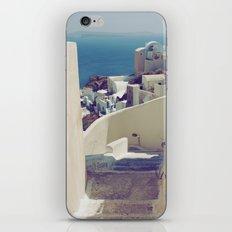 Santorini Stairs IV iPhone Skin